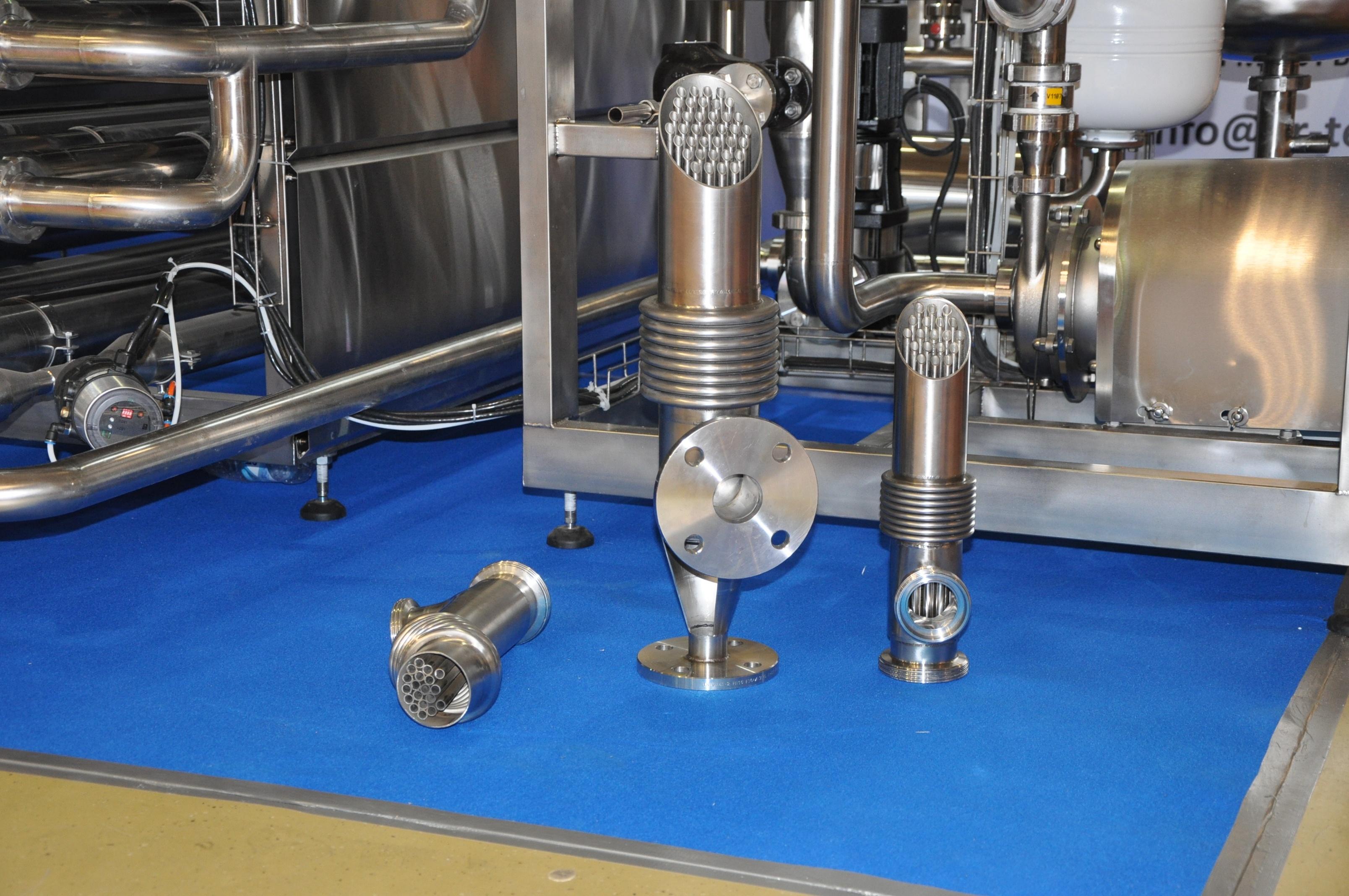 Теплообменники трубчатые обслуживание Кожухопластинчатый теплообменник испаритель Машимпэкс (GEA) с сепаратором PSHE-12 Чита