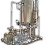 Дезодорационная установка для молока и сливок
